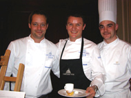 Chef Theo Randall with Chefs
