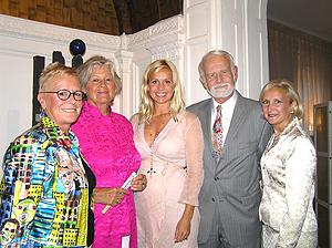 Annika Benjes, Brigit Anneling, Tina Nordstrom, Consul General, and Debra