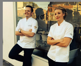 Chef Fredrik Andersson, Chef Frida Ronge - photo by Luxury Experience