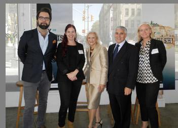 Kalle Bergstrom, Jill Axelsson Pabst, Debra Argen, Edward Nesta, Ami Hovstadius - photo by Luxury Experience