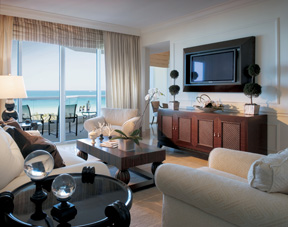 Acqualina Resort & Spa on the Beach - Oceanfront Suite Living Room