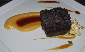 Braised Short Ribs at Riingo - The Alex Hotel, New York