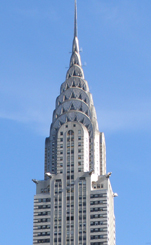 Chrysler Building view from The Alex Hotel