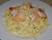 Antigua Alqueria de Carrión - Fettuccini with Shrimp