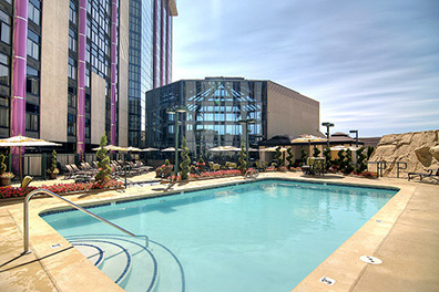 Outdoor pool - Atlantis Casino Resort Spa - Reno, Nevada