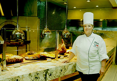 Chef Ravyn Rodriques - Toucan Charlie's - Atlantis Casino Resort Spa - Reno, Nevada - photo by Luxury Experience