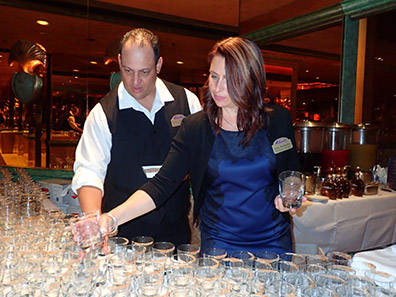 Steven Sedillos, Holly Buchanan - Spirited Dinner - Atlantis Casino Resort Spa - Reno, Nevada - photo by Luxury Experience