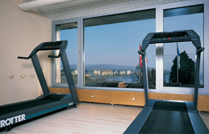 Fitness Center at the Baur au Lac, Zurich, Switzerland