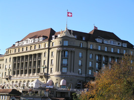 Hotel Bellevue Palace, Bern,Switzerland