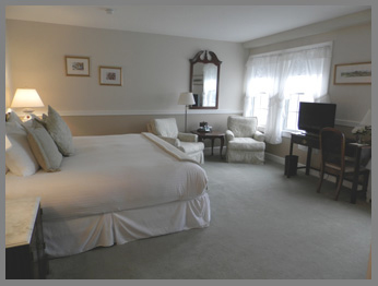 Guestroom - Black Point Inn, Maine - photo by Luxury Experience