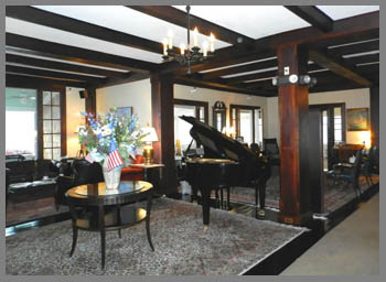 Lobby - Black Point Inn, Maine - photo by Luxury Experience