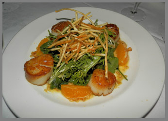 Scallops - Black Point Inn, Maine - photo by Luxury Experience