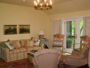 The Old Bath House Living Room - Blantyre, Lenox, Massachusetts, USA - Photo by Luxury Experience