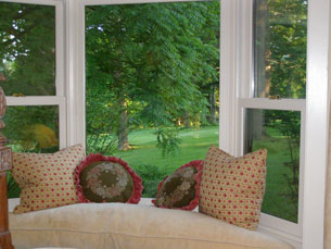 The Old Bath House Window Seat - Blantyre, Lenox, Massachusetts, USA - Photo by Luxury Experience