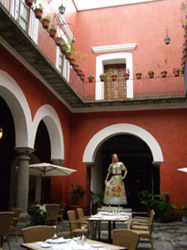 Casona de la China Poblana, Puebla, Mexico - Courtyard