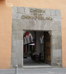Casona de la China Poblana, Puebla, Mexico - Entrance