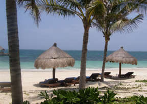 Ceiba del Mar Beach & Spa Resort, Riviera Maya, Mexico - Beach View
