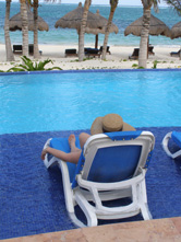 Ceiba del Mar Beach & Spa Resort, Riviera Maya, Mexico - Pool Chaises