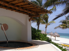 Ceiba del Mar Beach & Spa Resort, Riviera Maya, Mexico - Private Jacuzzi