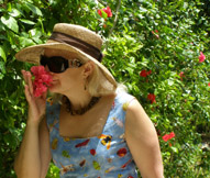 Ceiba del Mar Beach & Spa Resort, Riviera Maya, Mexico - Taking Time to Smell the Flowers