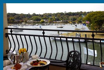 Balcony view - Delamar Greenwich Harbor, Greenwich, CT, USA