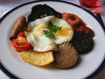 Dromoland Castle Hotel & Country Estate, Newmarket-on-Fergus, County Clare, Ireland - Full Irish Breakfast