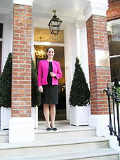 The Egerton House Hotel GM Sandra Anido Welcomes You