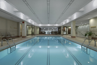 Swimming Pool - Fairmont The Queen Elizabeth, Montreal, Canada