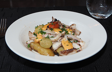 Fairmont Washington DC, Georgetown - Juniper Restaurant - Spanish Grilled Octopus - photo by Luxury Experience