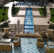 View of Hotel Terrace and Pool