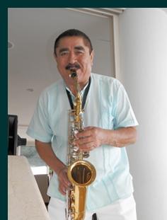 Live Jazz Reception area - Grand Miramar Puerto Vallarta, Mexico - photo by Luxury Experience