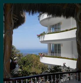 View from Reception area - Grand Miramar Puerto Vallarta, Mexico - photo by Luxury Experience
