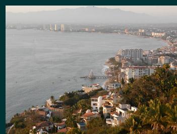 View of Puerto Vallara from Grand Miramar Puerto Vallarta, Mexico - photo by Luxury Experience
