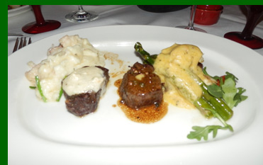 Wagyu Filet Mignon - The Greenbrier - photo by Luxury Experience