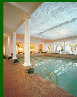The Greenbrier Resort Indoor Pool, WV, USA