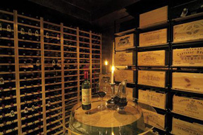 The Gallary Restaurant, Hotel Holt, Reykjavik, Iceland  - Wine Cellar
