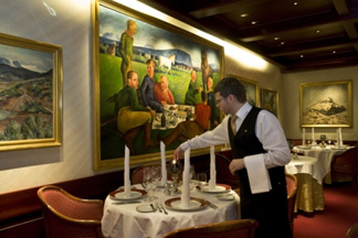The Gallary Restaurant, Hotel Holt, Reykjavik, Iceland