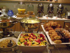 Breakfast Pantry at Roger Hotel New York - Photo by Luxury Experience