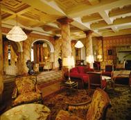 Kulm Hotel St. Moritz, Switzerland - Lounge