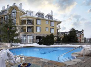 Outdoor Pool and Spa - Le Westin Resort & Spa, Tremblant Canada