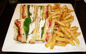 Club Sandwich at Lounge Restaurant - Le Westin Resort & Spa, Tremblant - Photo by Luxury Experience