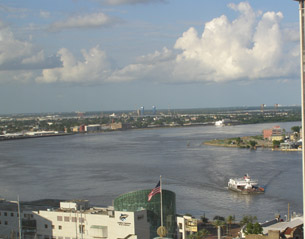View from Guestroom - Loews New Orleans Hotel, New Orleans, Louisina, USA - photo by Luxury Experience
