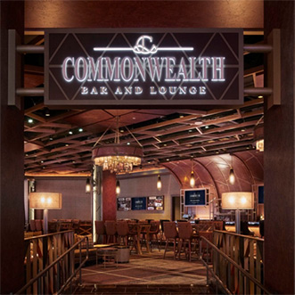 Commonwealth Bar and Lounge - MGM Springfield - Springfield, MA