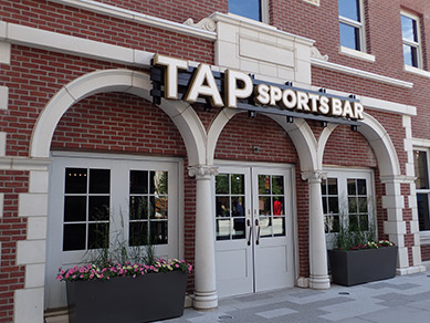 TAP Sports Bar - MGM Springfield - photo by Luxury Experience