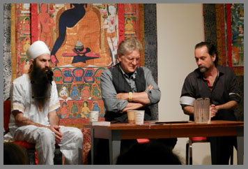 Jai Dev, Robert Thruman, David Crow - The Menla Mountain Retreat and Mahasukha Spa - Photo by Luxury Experience