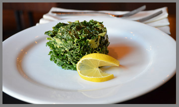 Kale Salad by Chef Curt Robair