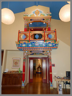 Tibetan Archway - The Menla Mountain Retreat and Mahasukha Spa - Photo by Luxury Experience