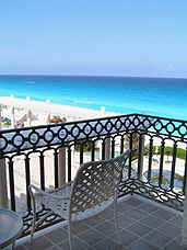 Le Meridien Cancun Resort & Spa balcony view