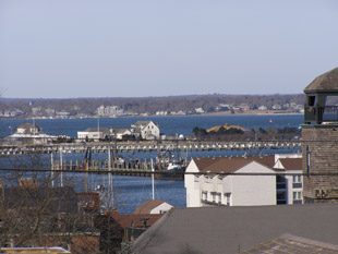 View from Rooftop Terrace - Mill Street Inn, Newport, Rhode Island, USA - Photo by Luxury Experience