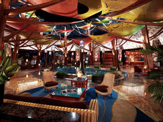 Lobby at Mohegan Sun